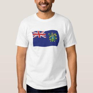 Camisa de la bandera de las islas de Pitcairn