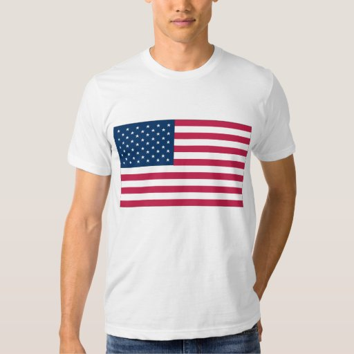 Camisa de la bandera de los E.E.U.U.
