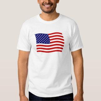 Camisa de la bandera de los Estados Unidos de