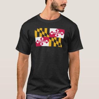 Camisa de la bandera de Maryland