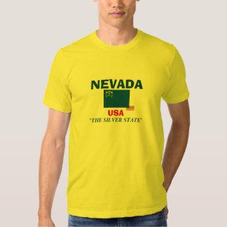 Camisa de la bandera de Nevada