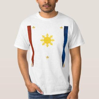 Camisa de la bandera de Pilipinas