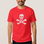 Camisa de la bandera de pirata