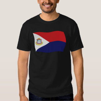 Camisa de la bandera de Sint Maarten