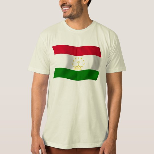 Camisa de la bandera de Tayikistán