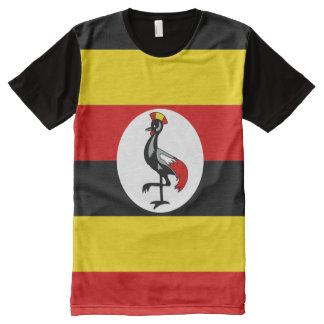 Camisa de la bandera nacional de Uganda