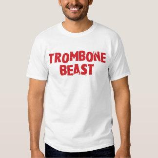 Camisa de la bestia del Trombone - luz