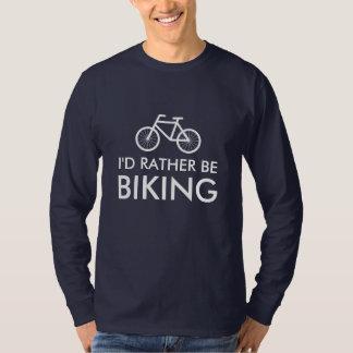 Camisa de la bici con el lema el   de la diversión