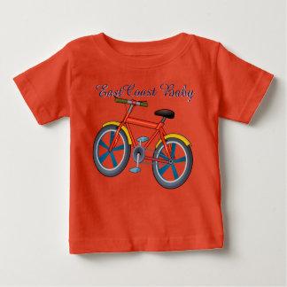 Camisa de la bicicleta de la bici del bebé de la