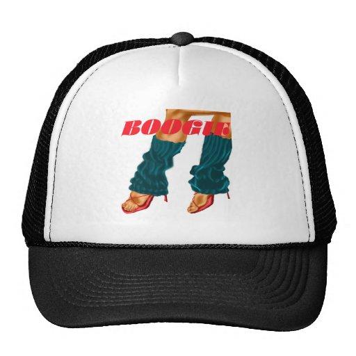 Camisa de la boogie gorras de camionero