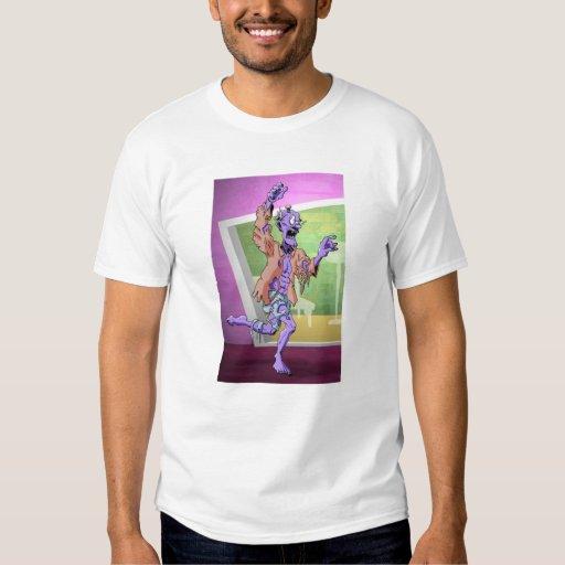 Camisa de la búsqueda del zombi (colores claros)