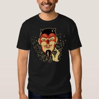 Camisa de la cabeza del diablo del vintage