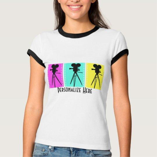 Camisa de la cámara del tecnicolor