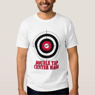 Camisa de la camiseta de la blanco del tiroteo del