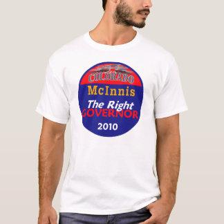 Camisa de la camiseta del gobernador de McINNIS