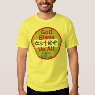 Camisa de la camiseta del NAVIDAD