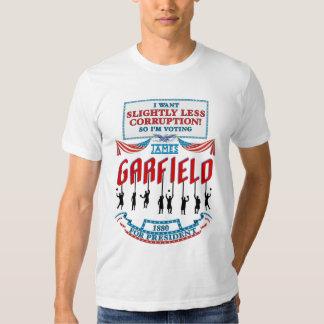 Camisa de la campaña de James Garfield 1880