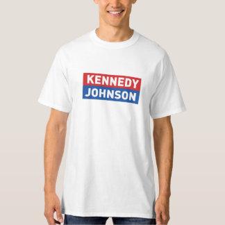 Camisa de la campaña del vintage de Kennedy