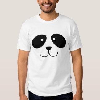 Camisa de la cara de la panda
