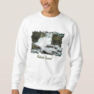 Camisa de la cascada del Naturaleza-amante de la