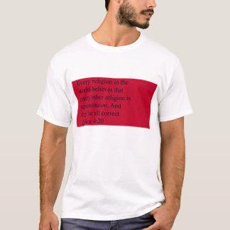 Camisa de la cita del 4:20 de los fundamentos