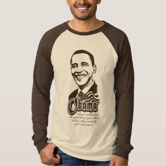 Camisa de la cita del progreso de Obama