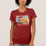 Camisa de la comida de la comodidad