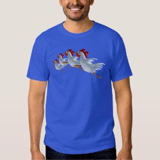 camisa de la compañía del gallinero