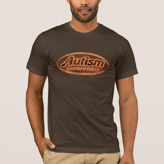 Camisa de la conciencia del autismo (Oval-r)