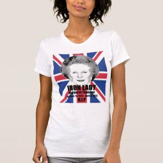 Camisa de la conmemoración de la dama de hierro de