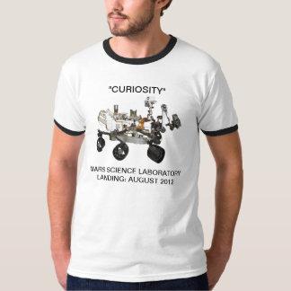 """Camisa de la """"curiosidad"""" de Marte"""