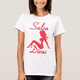 Camisa de la danza de la diva de la salsa