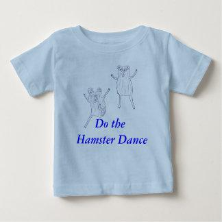 camisa de la danza del hámster del bebé