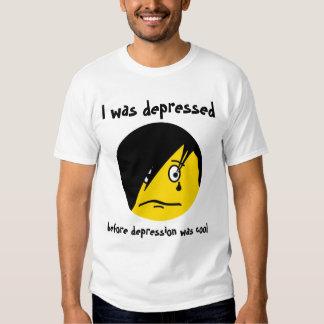 Camisa de la depresión de EMO