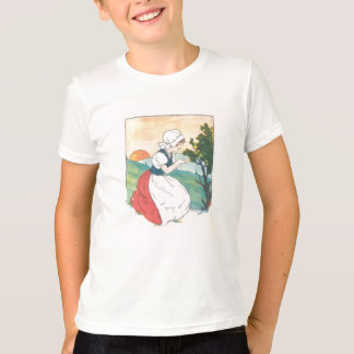Camisa de la doncella de la mamá ganso