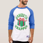 Camisa de la envoltura de Gangsta del vintage