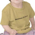 Camisa de la escritura del bebé