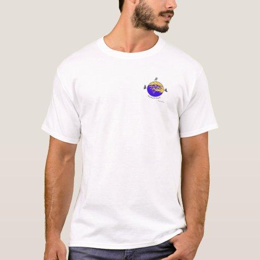 Camisa de la escuela de Tao Kung Fu del silbido de
