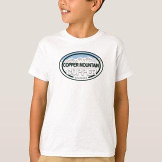 Camisa de la etiqueta de la montaña de