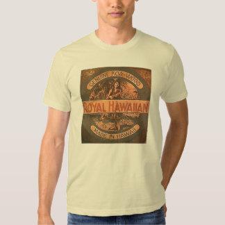 Camisa de la etiqueta del Ukulele del vintage