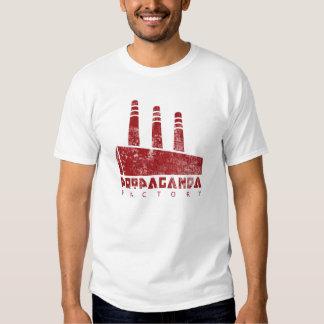 Camisa de la fábrica de la propaganda