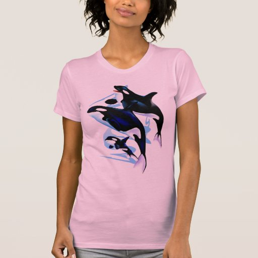 Camisa de la familia de la orca