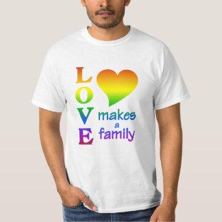 Camisa de la FAMILIA del ARCO IRIS - elija el