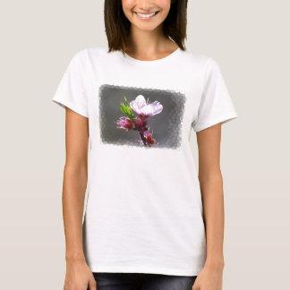 Camisa de la flor de cerezo