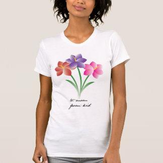 camisa de la flor del día de madre