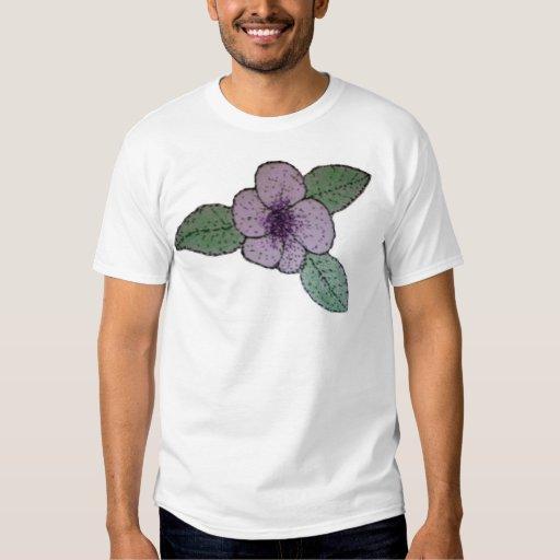 camisa de la flor del stiple