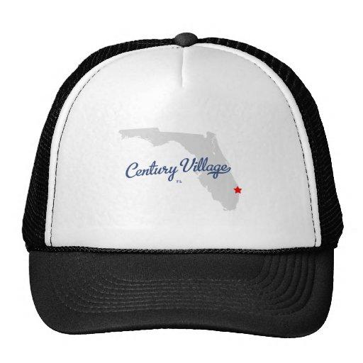 Camisa de la Florida FL del pueblo del siglo Gorra
