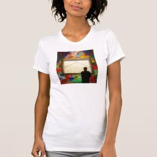 Camisa de la galería de la pintura de pared
