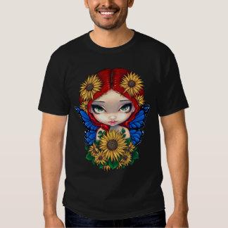 Camisa de la hada del girasol