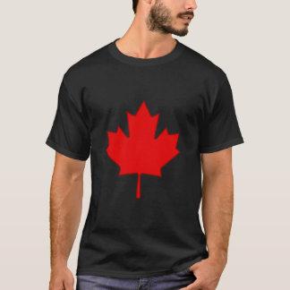 Camisa de la hoja de arce de Canadá